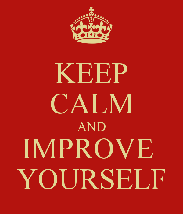 Keep Improving Yourself: Seek Criticism In Order To Improve Yourself