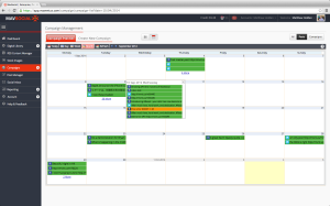 MavSocial day-week-month Camapign Calander Screenshot