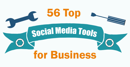 56 Top Social Media Marketing Tools Infographic by SMWriting on Take It Personel-ly