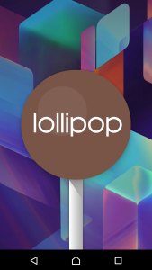 Xperia Z3 Android Lollipop Hidden Game Lollipop logo