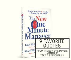 A picture of the New One Minute Manager Book