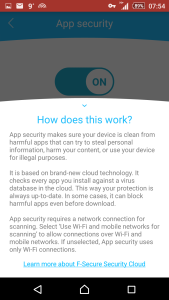 F-Secure Freedome How App Security Works picture