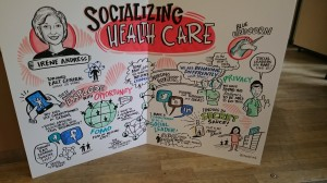 A Graphic Recording of Irene Andress' Speech