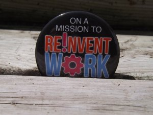 On a Mission to Reinvent Work