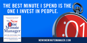 A picotquote from the New One Minute Manager Book
