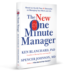 A picture of the book The New One Minute Manager