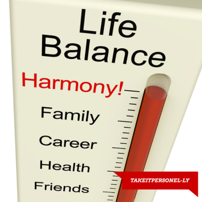 Work-Life Balance Technology Can Be Your Friend - Take It Personel-ly