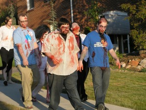 A Group of Zombie People