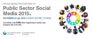 Conference Board of Canada Public Sector Social Media 2015 Marketing Partner