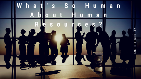 What's So Human About Human Resources, The Coaching Solution Book Review for Take It Personel-ly Blog