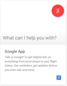 Google App Android Wear