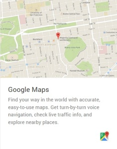 Google Maps Android Wear