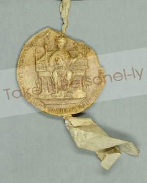 © Chapter of Durham Cathedral - Magna Carta King John Seal, Take It Personel-ly