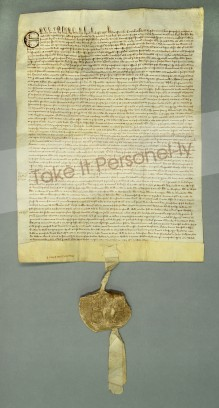 © Chapter of Durham Cathedral - Magna Carta With Seal, Take It Personel-ly