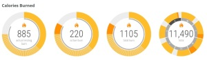 Moto 360 Moto Body Calories Burned