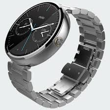 Motorola Moto 360 With Silver Metal Band, Take It Personel-ly