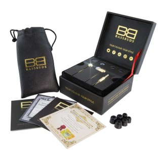 What's In The Box with the BassBuds 24 Carat Gold Earphones
