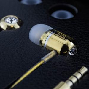 24 Carat Gold Plated BassBuds Earphones