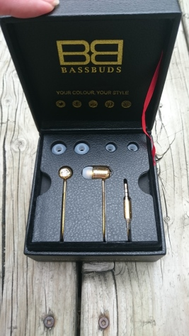 BassBuds Limited Edition 24 Carat Gold Earphones
