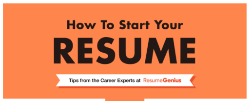 How To Start Your Resume: Flow Chart, Take It Personel-ly