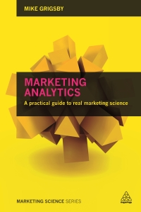 Marketing Analytics Book Cover