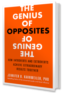 The Genius of Opposites Book Cover