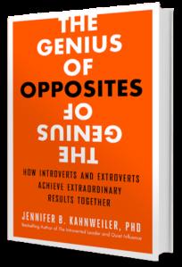 The Genius of Opposites Book Cover