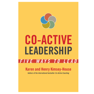 Co-Active Leadership Book Cover