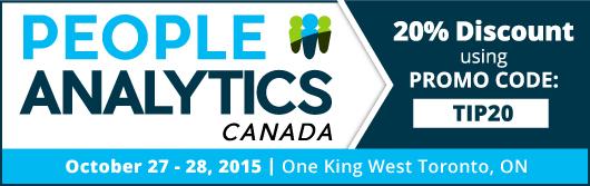 People Analytics Canada - October 2015