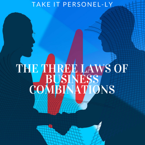 The Three Laws of Business Combinations, Remix Strategy Book, Take It Personel-ly