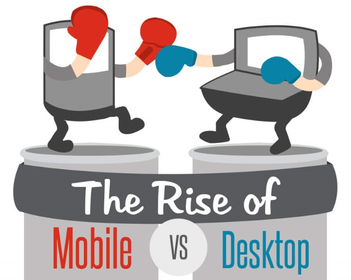 the Rise of Mobile VS Desktop [#Infographic] - Take It Personel-ly