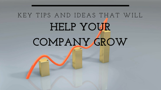 Key Tips And Ideas That Will Help Your Company Grow - Take It Personel-ly