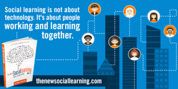 people working and learning together
