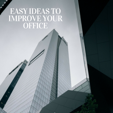 Easy Ideas To Improve Your Office, Take It Personel-ly