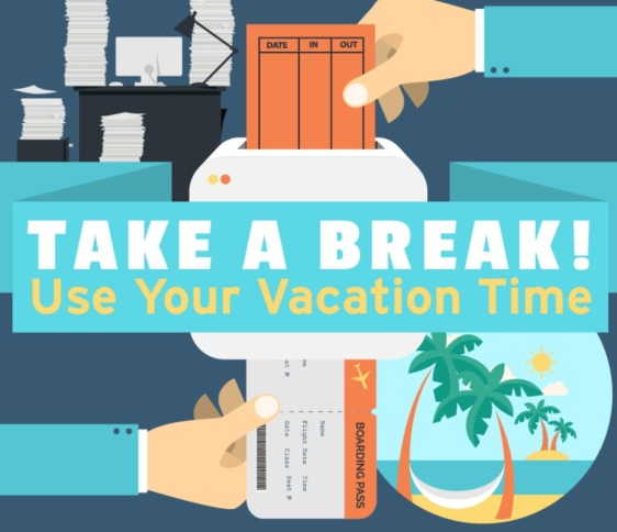 Take a Break! Use Your Vacation Time [#Infographic], Take It Personel-ly