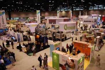 Trade Show Floor Exhibit