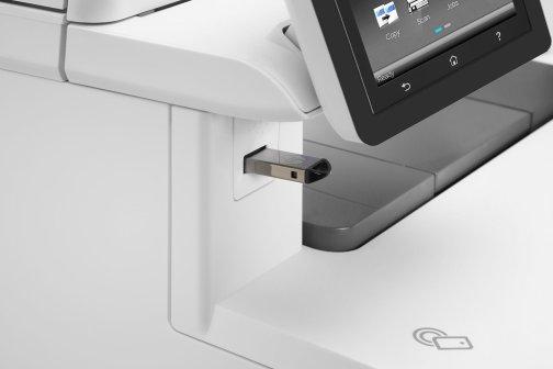 HP Color LaserJet Pro MFP M477DFW USB