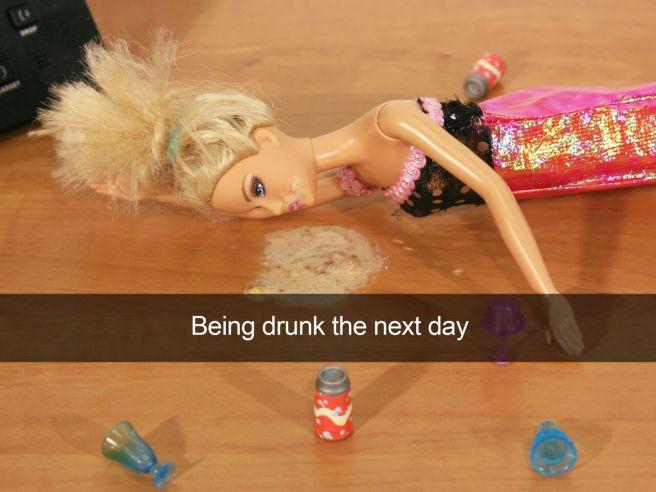 Being Drunk The Next Day