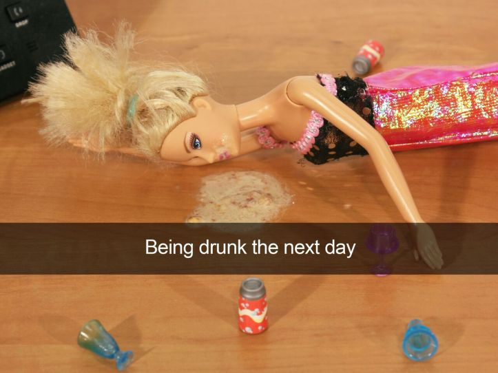 Being Drunk The Next Day