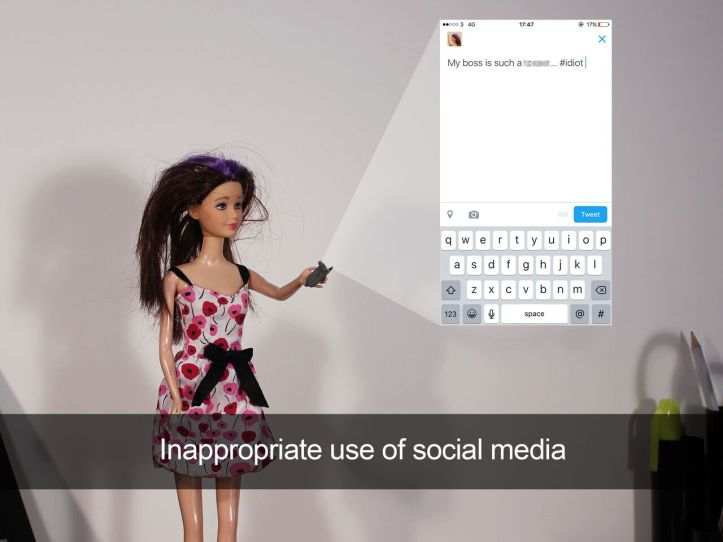 Inappropriate Use Of Social Media