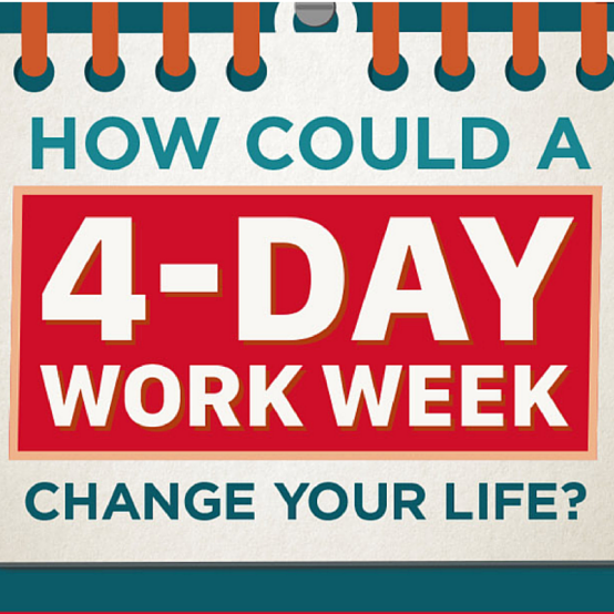 How Could a 4-Day Work Week Change You Life? #infographic, Take It Personel-ly