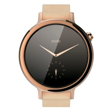 Motorola's Moto 360 2nd Gen Women's Watch Front View