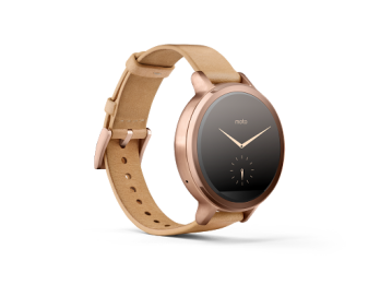 Motorola's Moto 360 2nd Gen Women's Watch Side View