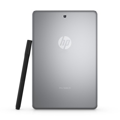 HP Pro Slate 8 Tablet Review - Business Tablet, Rear View