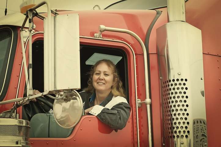 A New Road: Careers As A Woman Trucker