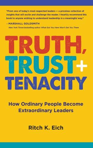 Truth, Trust + Tenacity Book Cover