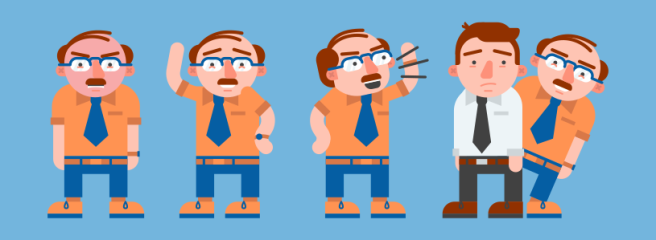 8 Types of Toxic Bosses #infographic