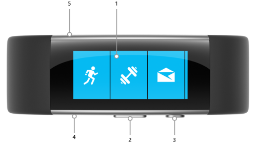 Microsoft Band 2 Front Face