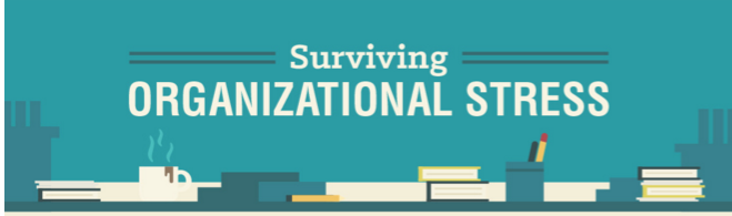 Surviving Organizational Stress [#Infographic]