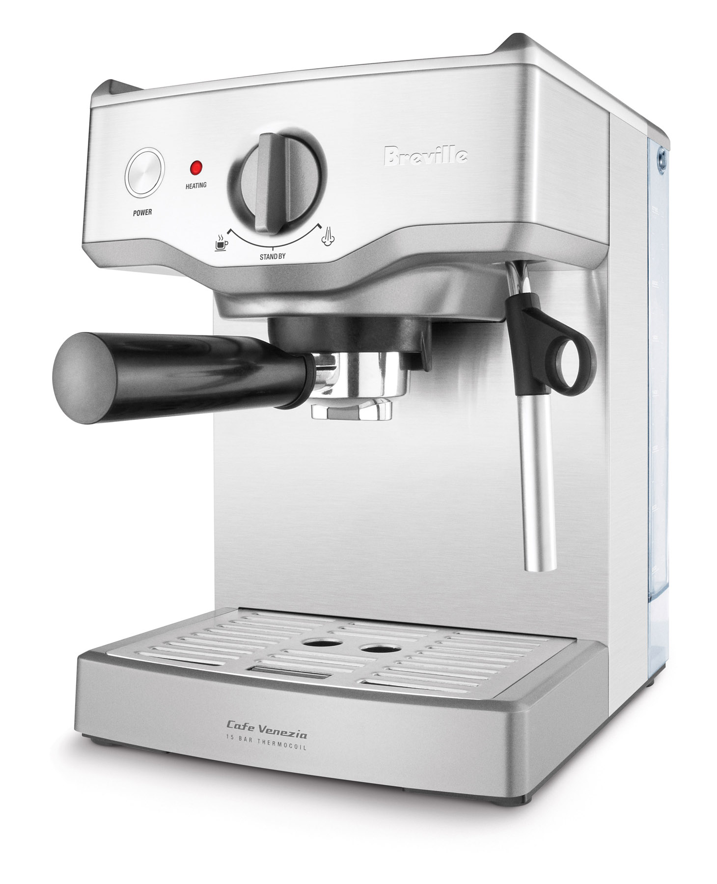 Coffee Maker Breville : Review: Breville s Cafe Venezia Espresso Machine Take It Personel-ly